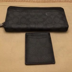 Coach wallet bundle